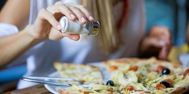 Ny forskning visar: Salt är mindre hälsofarligt än befarat