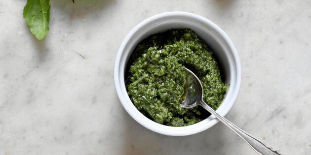 Grön pesto – grundrecept