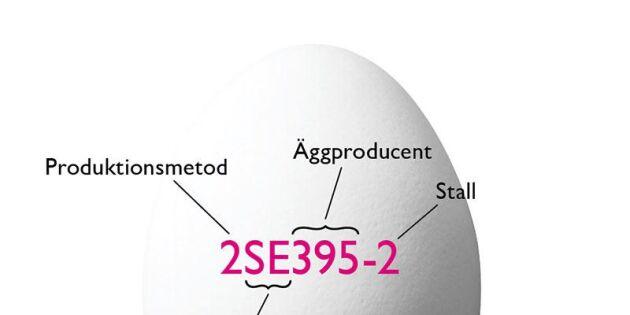 Kan du tyda äggets röda märkning? Om inte, kolla här!