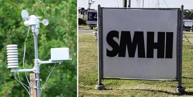 SMHI vill få data från fler väderstationer.
