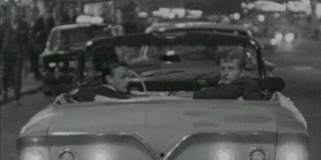 Bråken mellan raggare och polis: 60-talets vilda nattliv