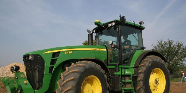 Fortsatt stor traktorförsäljning