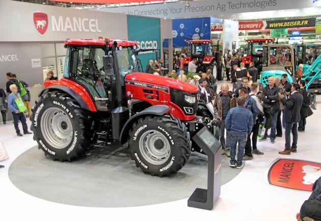 Mancel är ett nytt europeiskt traktormärke från kinesiska YTO.