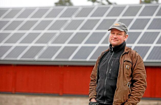 Anders Hultgren på Vånga gård.