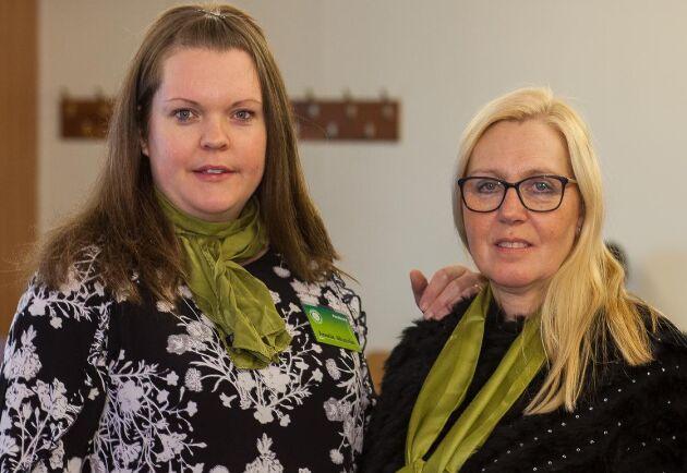 Annelie Näsström verksamhetschef, och Lena Philipson, styrelseordförande för MR Sverige.