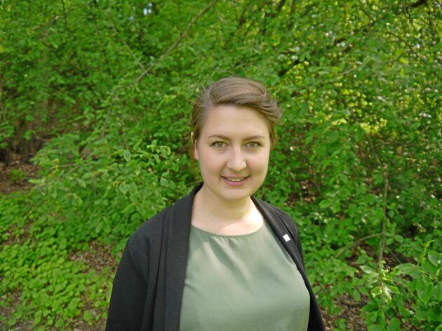 Sofia Sollén-Norrlin, verksamhetsledare i Ekologiska Lantbrukarna.