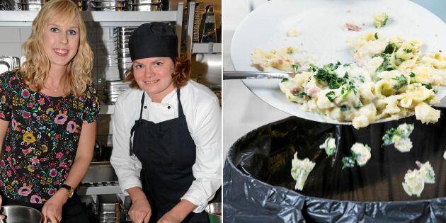 Succéprojektet: Karlstads skolor kastar 60 ton mindre mat