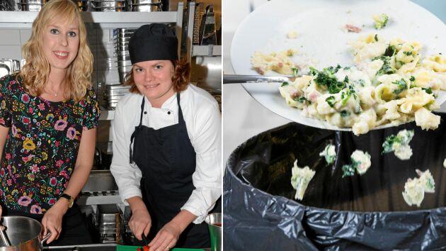 Klara Perhamre är mycket nöjd med projektet som minskat matsvinnet rejält i Karlstads skolor.