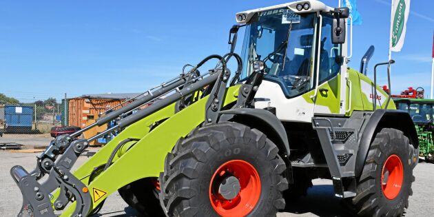 Sverigepremiär för Claas hjullastare