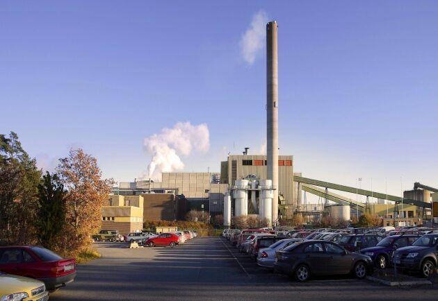 Braviken Paper Mill.