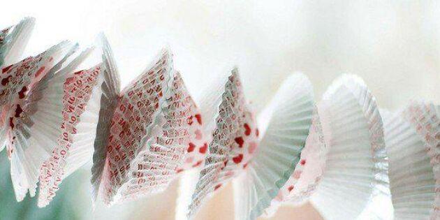 Kalasfin girlang av muffinsformar