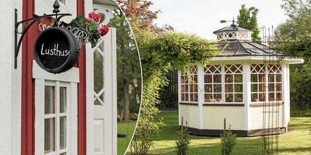 Bygga lusthus - tips, idéer och vackra lusthus att härma