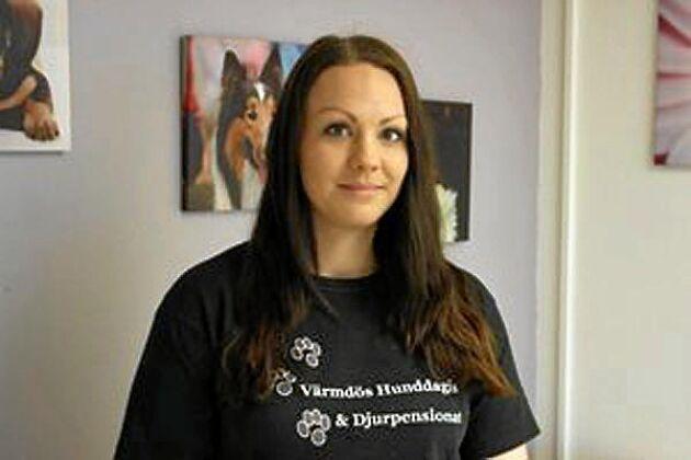 Josefine Olofsson öppnade sitt hunddagis för allmänheten och gav strömlösa familjer någonstans att bo.