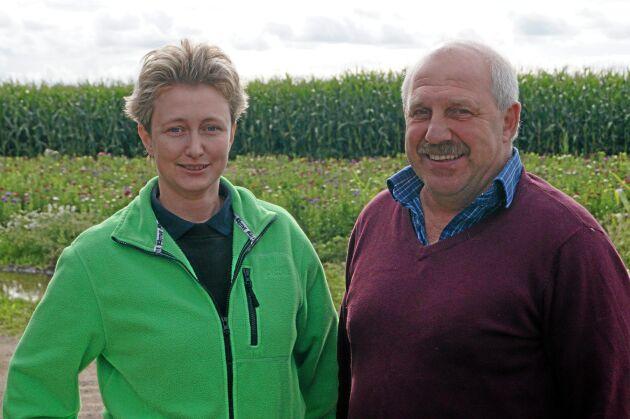 Anna Ericsson och Anders Olsson.