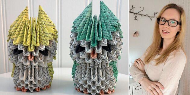 Lär dig bygga origami i 3D