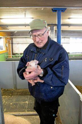När foder med tillsats av antibiotika i tillväxtfrämjande syfte dominerade marknaden på 1970-talet var Sven-Erik Johansson en av de grisuppfödare som vågade ifrågasätta det som skedde.