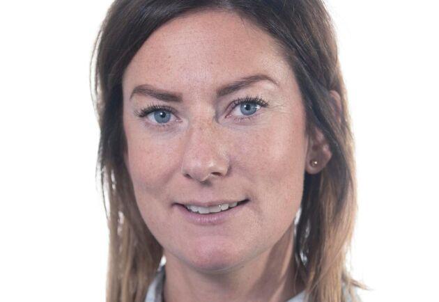 Erika Nyström, produktchef Nöt på Svenska Foder.