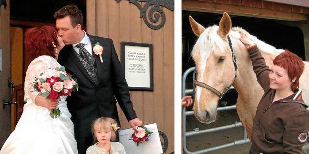 Desirée letade efter en häst på Blocket – fann sitt livs kärlek!
