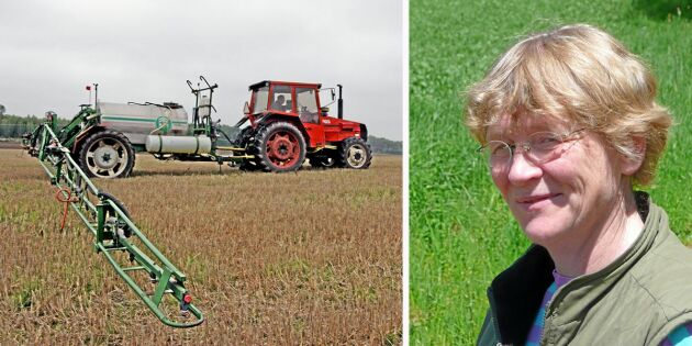 Tysk ogräsprofessor: Loppet kört för glyfosat