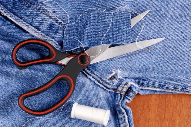 Laga jeansen –snällt mot både miljön och plånboken!