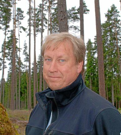 Mats Lundberg, skogsägare i Skellefteå.