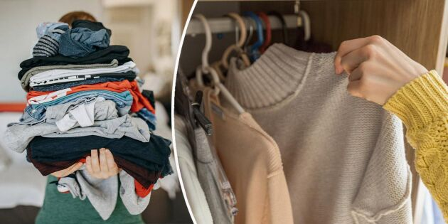 7 vanliga misstag som förstör dina kläder