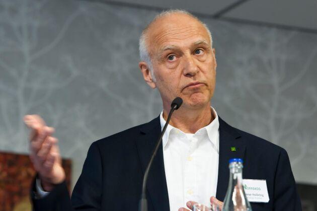 Norrskogs ordförande Gunnar Heibring slutar som ordförande.