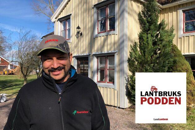 I veckans avsnitt av Lantbrukspodden möts en östgöte och en västgöte på slätten, när lantbruksprofilen Peter Borring får besök av reporter Göran Berglund.