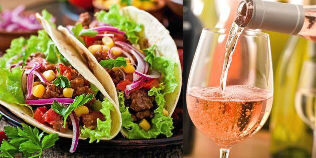 Vinexperten tipsar! Här är bästa vinerna till höstens tacos