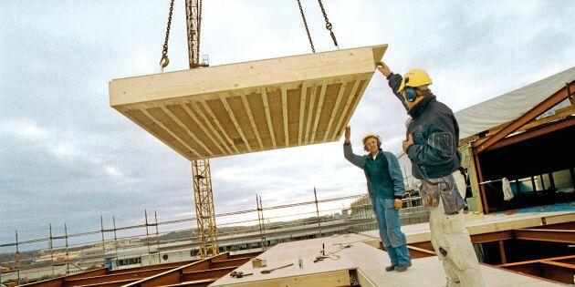 Klimatet rätt för att bygga i trä