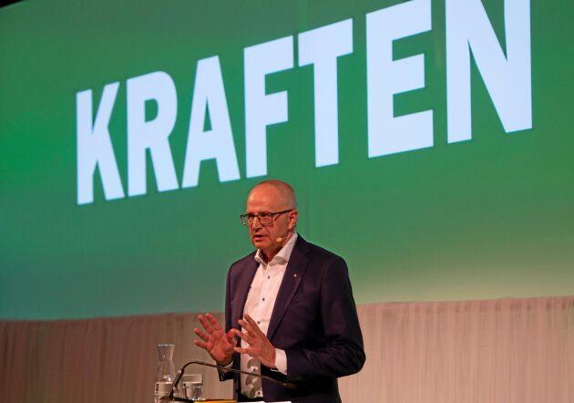 Palle Borgström varnar för att näringarna kan ses som bromskloss om man inte agerar inom hålbarhetsfrågan.