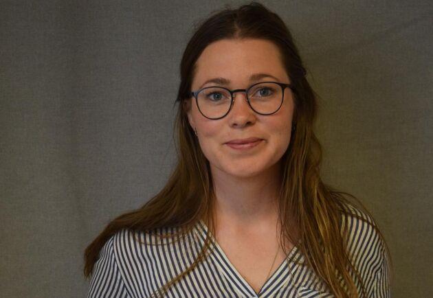 Carin Hoflund, LRF, som snart kan titulera sig äganderätts- och exploateringsexpert efter alla turer med gruvbolag i Småland.
