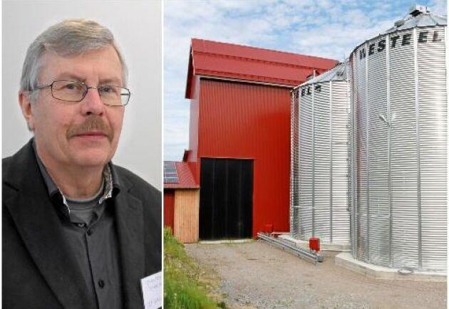 Christer Johansson ger sina bästa råd för bygget.