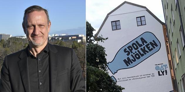 """LRF-chef ansvarig för Arlas """"spola havre""""-kampanj"""