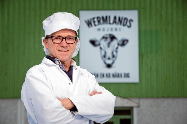 Yngve Gustafsson är vd för Wermlandsmjölk.