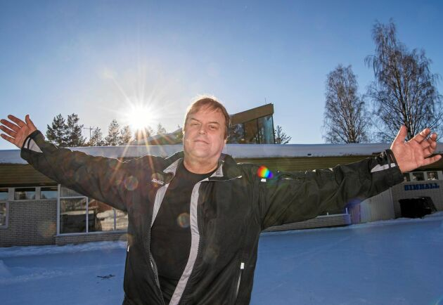Örjan Berglund är numera en av flera nya delägare i Jörns badhus och lyckats dubbla antalet besökare.
