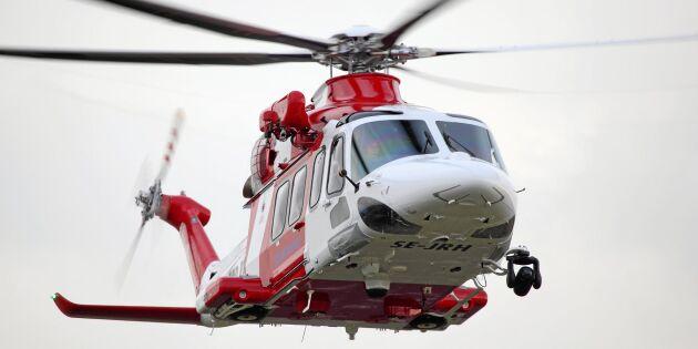 Fler helikoptrar krävs för att släcka skogsbränder