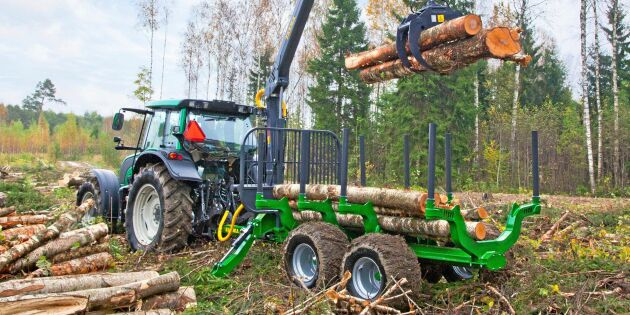 Tänk efter före vid köp av skogsvagn