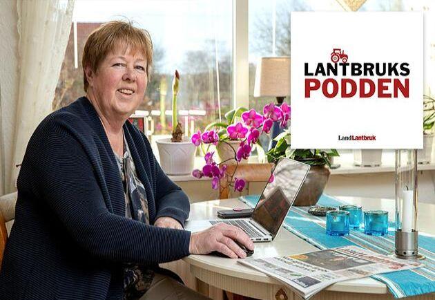 Kerstin Davidson, jobbade som journalist på Land och Land Lantbruk i över 40 år och har dessutom varit tidningens politiska redaktör.