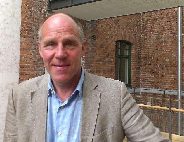 Patric Ramberg, teknisk direktör på Region Gotland.