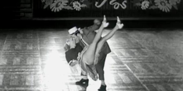 40-talets heta dans - som kunde chockera de vuxna