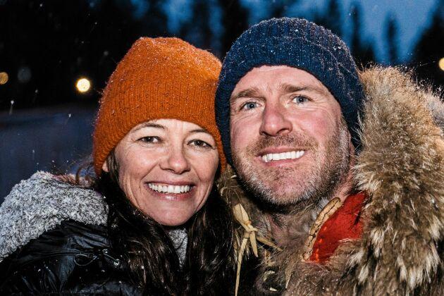Claire och Richard Rees älskar sitt nya liv.