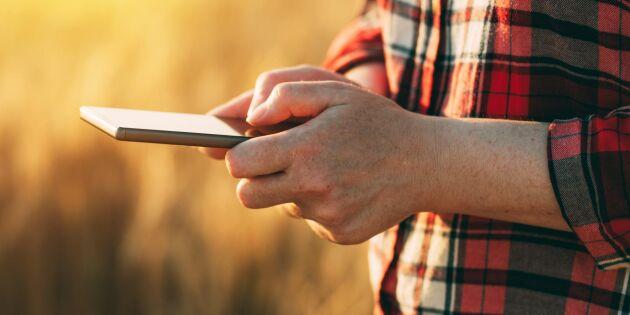 Ny app ska ge lantbrukaren skräddarsydd väderinformation