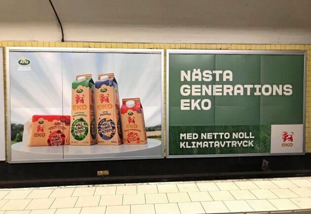 """Arlas """"Netto noll klimatavtryck""""-reklam bedöms som vilseledande."""