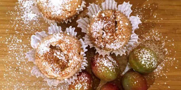 Höstens godaste! Bjud på superenkla plommoncupcakes