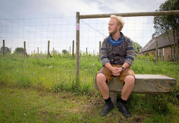 Efter att ha jobbat i en rad länder valde K Felix G Åhrberg att flytta hem för att vara med och bygga upp den svenska vinproduktionen med Kullabergs vingård som bas.