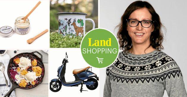 Lands egen e-handel Land Shopping har fyllts på med ännu mer inspiration, tips och information, av shoppingredaktör Helena Nimbratt.