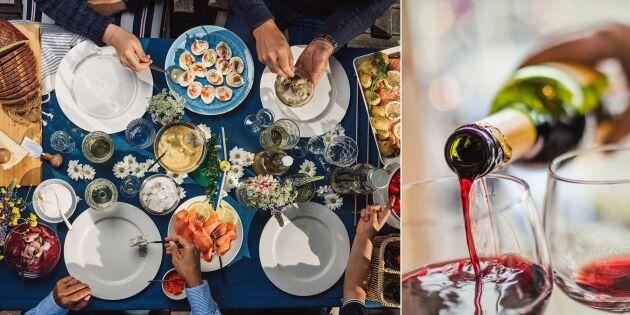 Vin till midsommar, kolla in vad experten ger för tips!