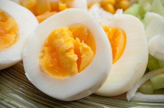 Perfekt sommarmat på alla sätt - ägg.
