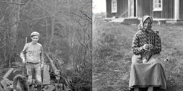 Nostalgi: Se unika bilderna av ett slitet Fattigsverige från förr